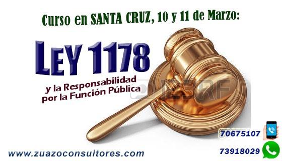 Curso en Santa Cruz 10 y 11 de Marzo: