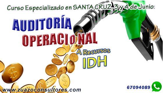 Curso Especializado en SANTA CRUZ, 3 y 4 de Junio: