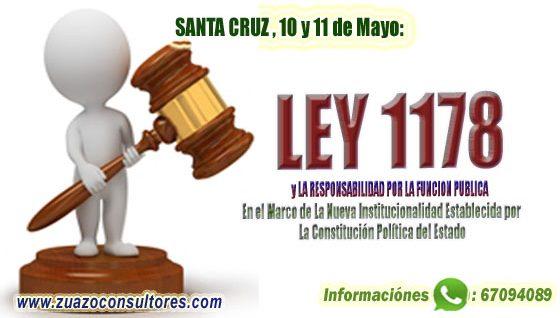 Curso Taller en Santa Cruz 10 y 11 de Mayo: